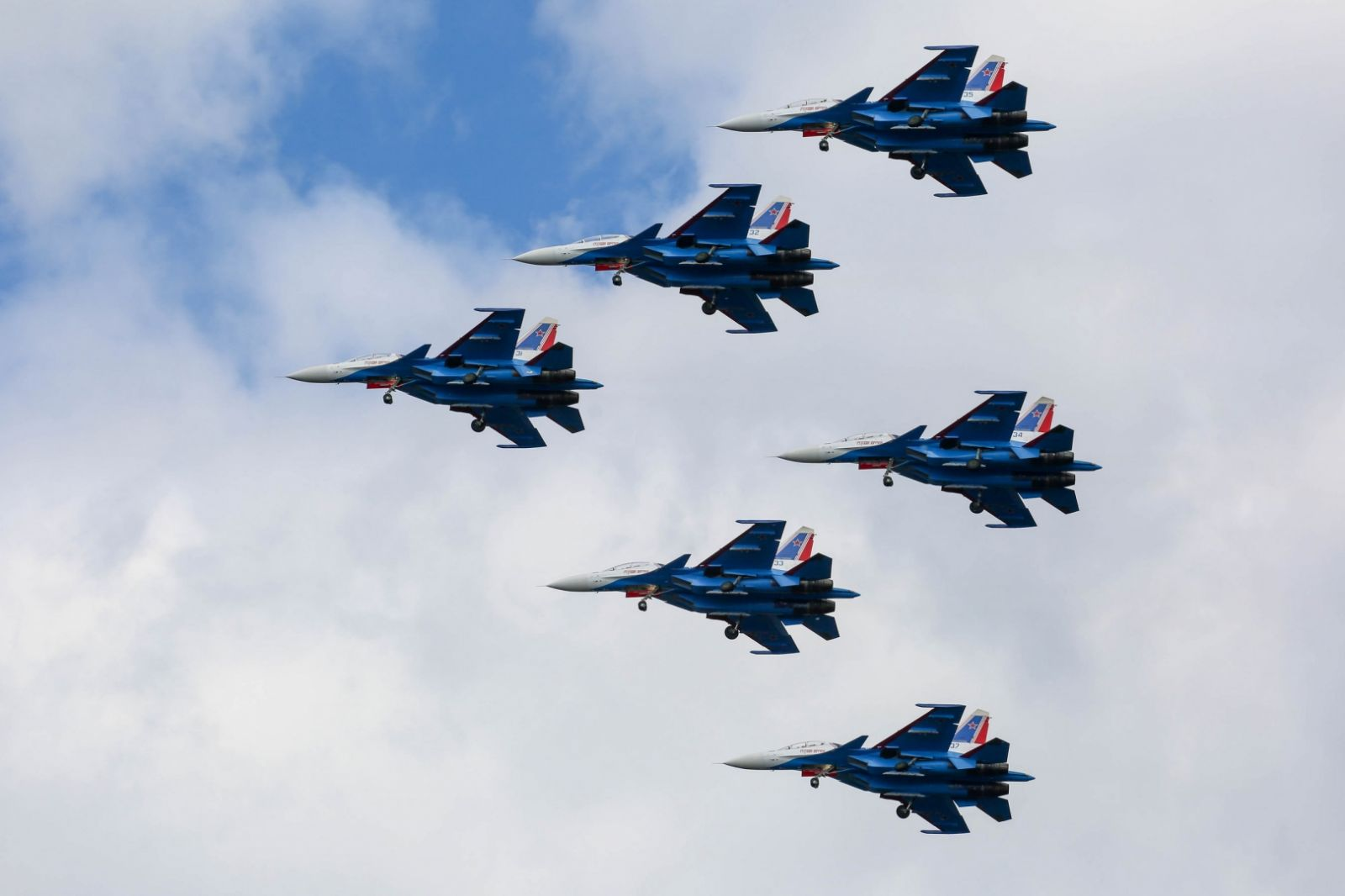 30 г. от създаването на пилотажната група «Русские Витязи» (ГАЛЕРИЯ, ВИДЕО)