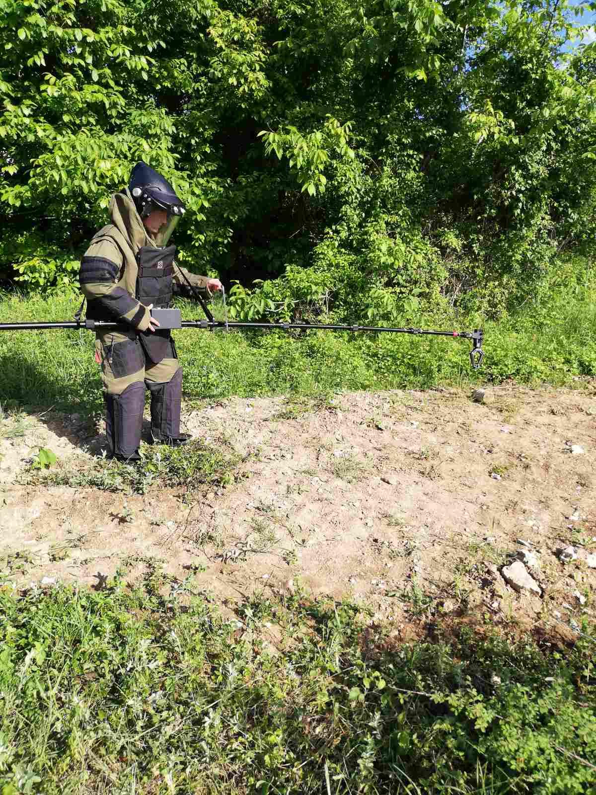 Специализиран екип от Сухопътните войски унищожи невзривен боеприпас, открит в град Плевен