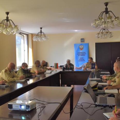 Проведе се учебно-методически сбор на главния сержант на Съвместното командване на силите