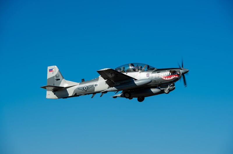 Embraer достави шест A-29 Super Tucano на филипинските ВВС