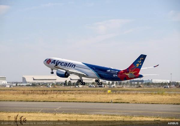 Първи полет за Airbus A330neo на Aircalin