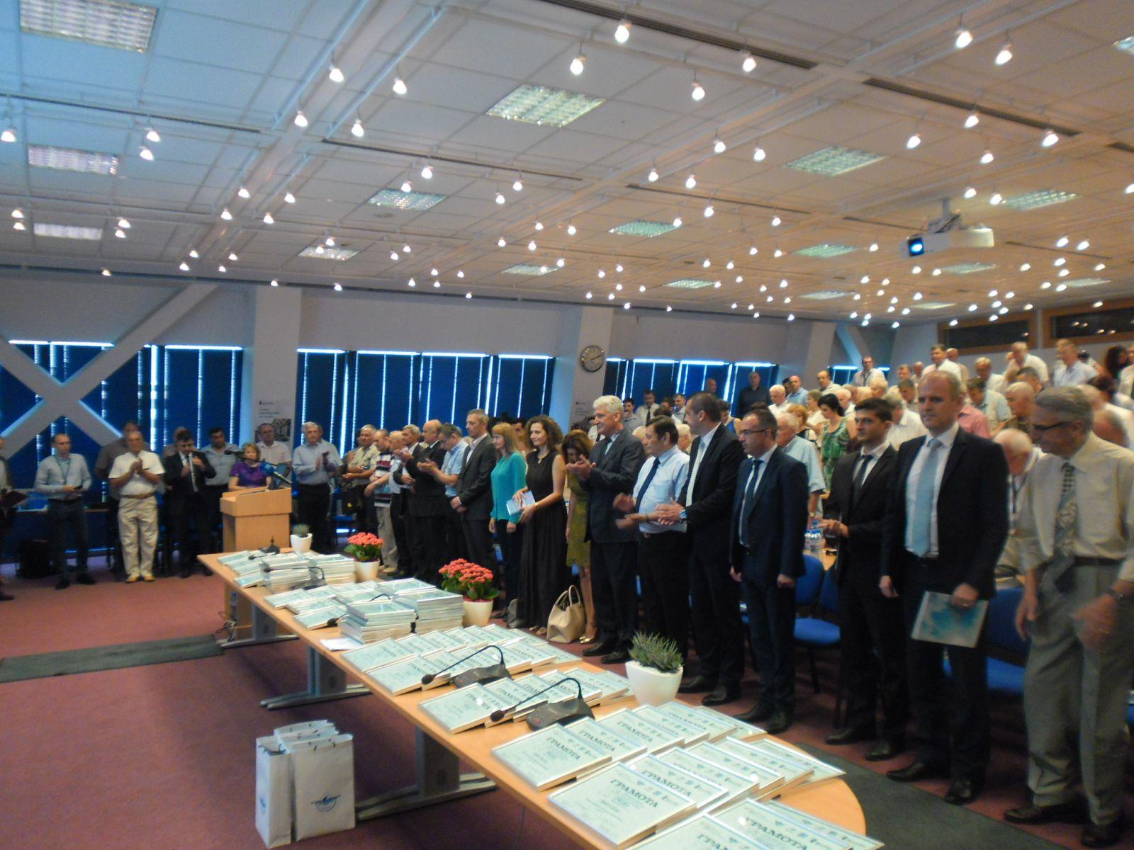 СНИМКИ: Отбелязахме 70 години Българска гражданска авиация
