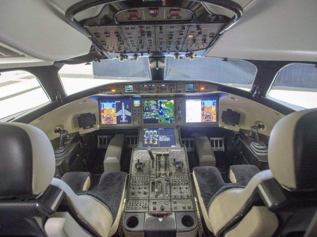 GlobaL 7500 получи сертификат от EASA