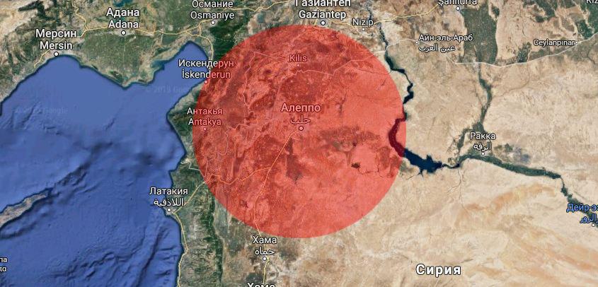 «Новая газета»: Израелските въздушни удари над Алепо са нанесени от територията на Сирия (и видео)