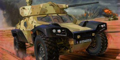 Panhard CRAB (Combat и Reconnaissance Armored Buggy).