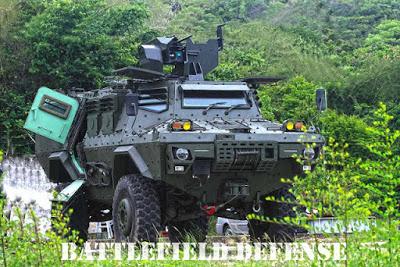 Нови колесни бронемашини за морската пехота на Тайланд