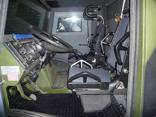 Бронеавтомобилът Armadillo