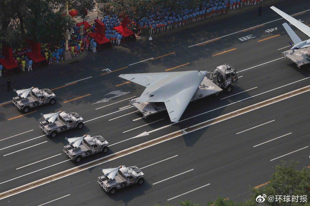 Китайските хиперзвукови ракетни блокове бяха показани на парада в Пекин