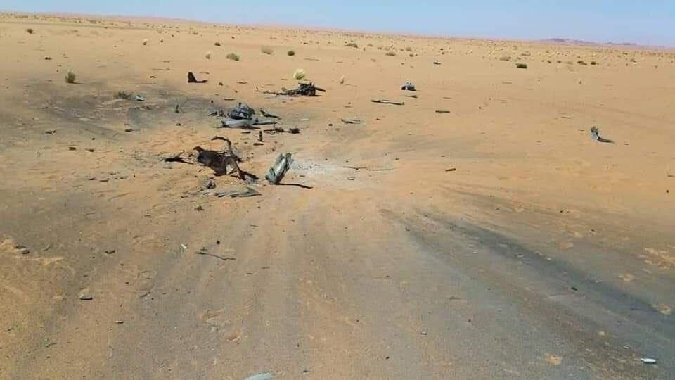 Мистериозният дрон, свален над Либия, много прилича на израелски БЛА