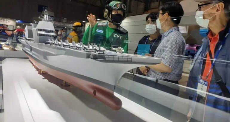 Fincantieri ще помогне на Южна Корея да си построи самолетоносач