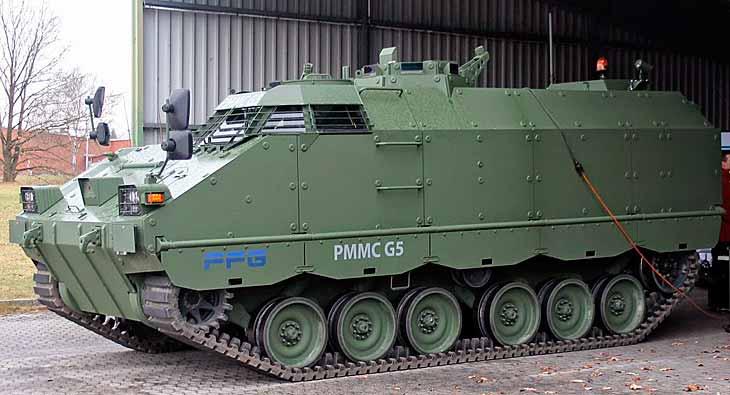 Германската верижна модулна ББМ PMMC G5