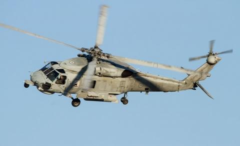 """Lockheed Martin предаде първия модернизиран Sikorksy S-70B """"Aegean Hawk"""" на гръцките ВМС"""
