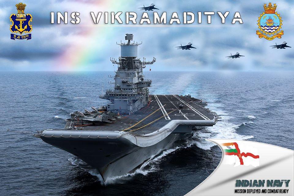 """Индийски Миг-29К е катастрофирал излитайки от самолетоносача """"Викрамадития"""""""