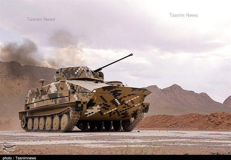 Радикално модернизирана версия на БТР-50 представиха в Иран