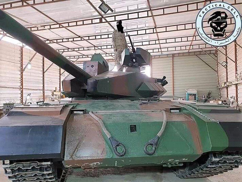 Появи се и иракска модификация на Т-55
