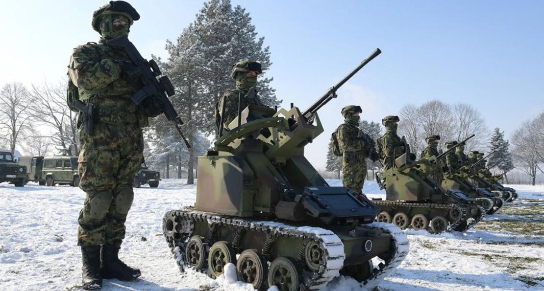 Сръбските специални сили получиха нови многоцелеви бронирани машини