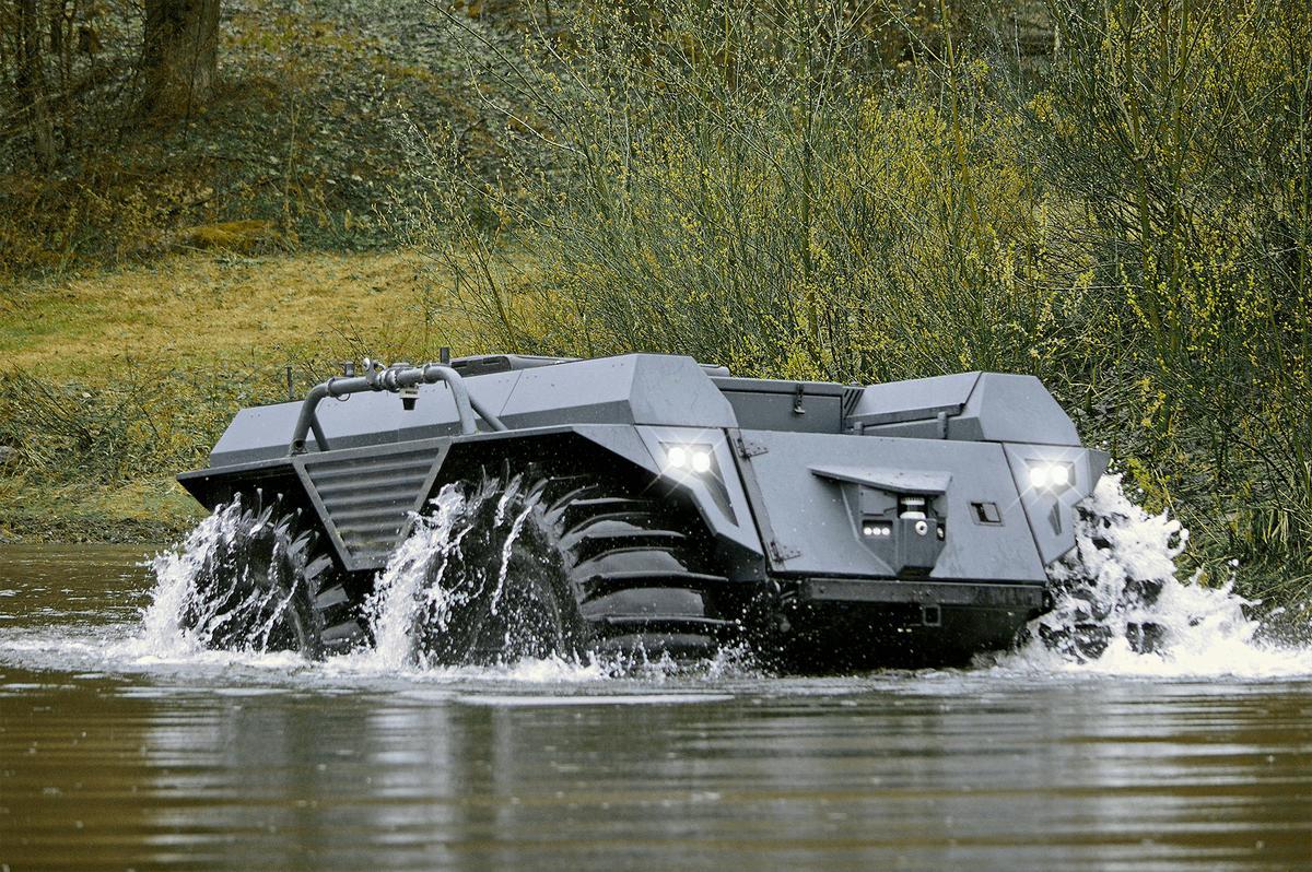Rheinmetall демонстрира ДУМ Mission Master XT с ракети Brimstone