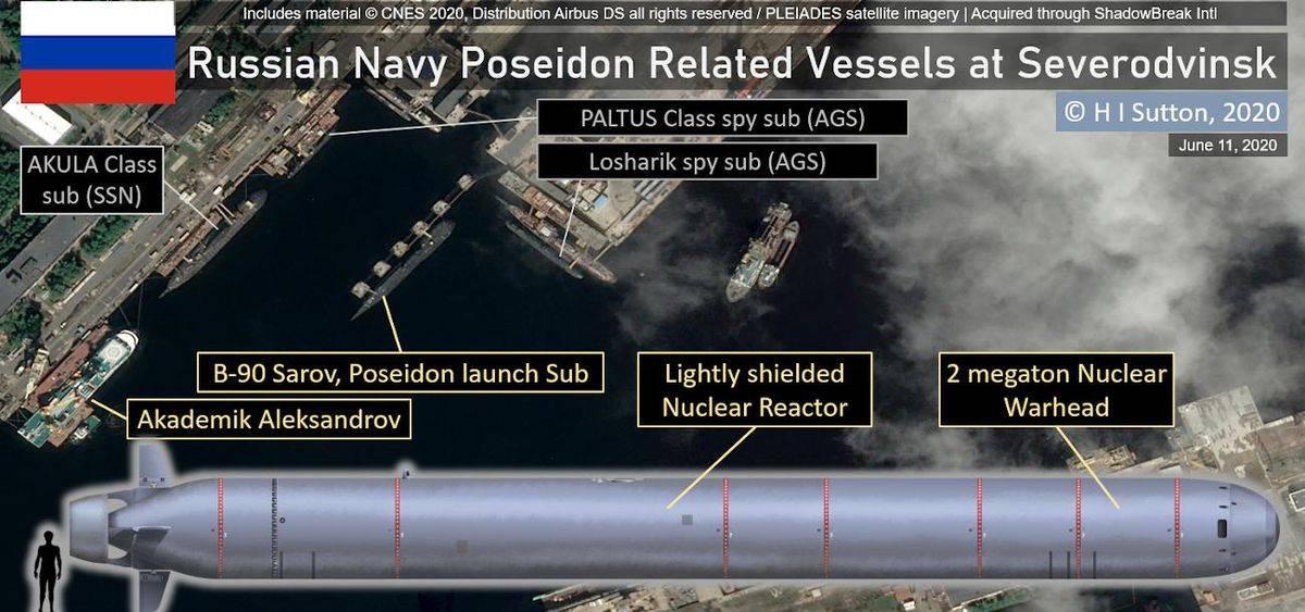 """Forbes: Суперторпедото """"Посейдон"""" може да е причина за изтичането на радиацията"""