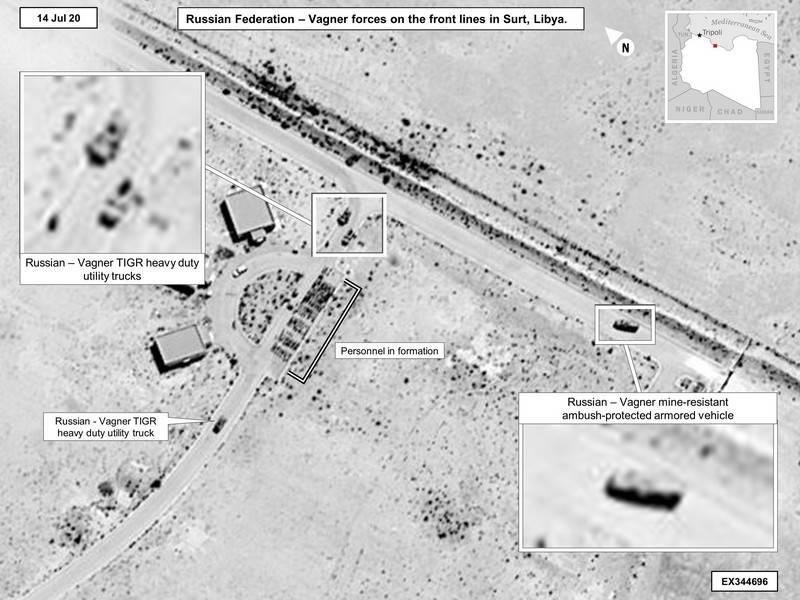 """САЩ доказват със сателитни снимки """"присъствието"""" на Русия в Либия"""