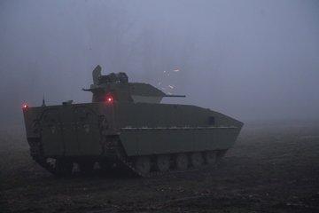 Топловизорът на сръбската БМП M-80A бе тестван през нощта