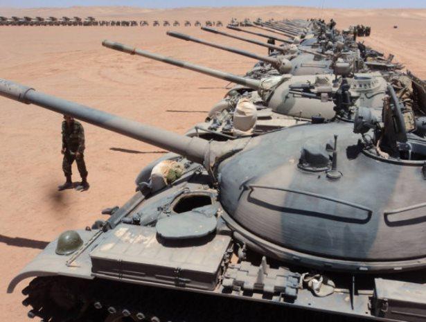 Съветските средни танкове Т-62 все още могат да дадат нещо от себе си