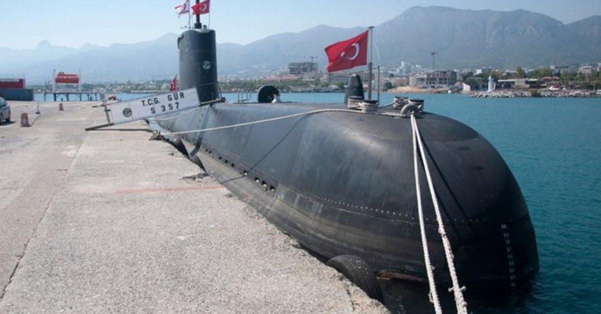 Турският флот успешно изстреля новото торпедо AKYA от подводницата TCG Gür S-357