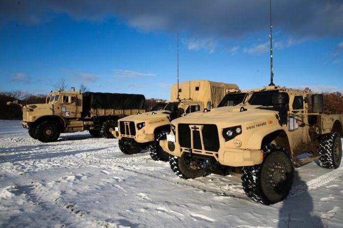Американските морски пехотинци с нови JLTV на ученията Northern Viper в Япония