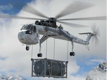 Прераждането на летящия кран S-64