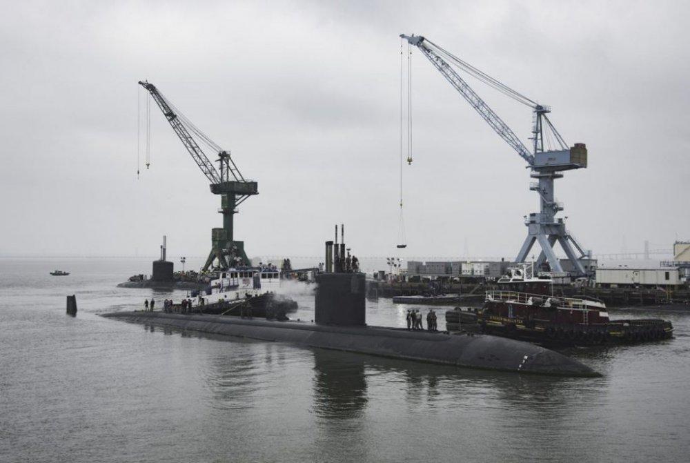 Започна капиталния ремонт на американската подводница Boise