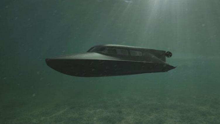 Във Великобритания разработват катер, който може да плава под водата