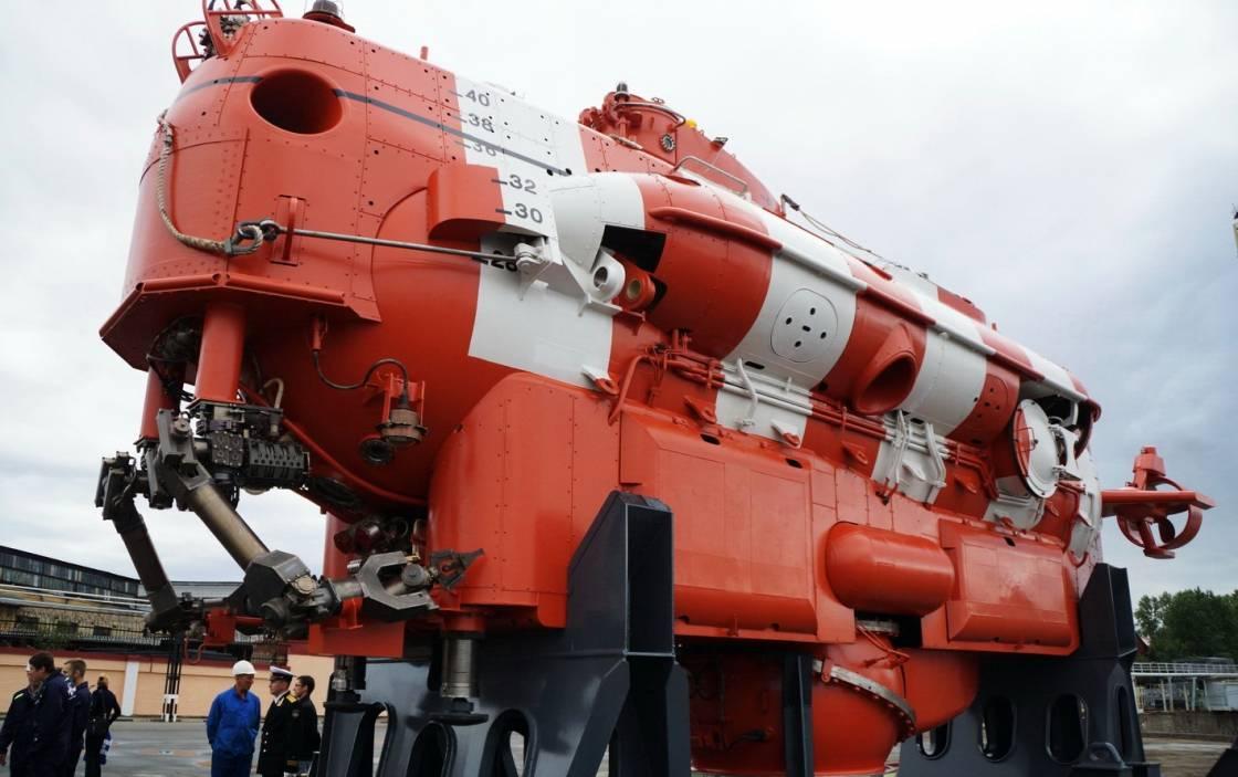 ВМС на Русия модернизират своите автономни дълбоководни спасителни апарати