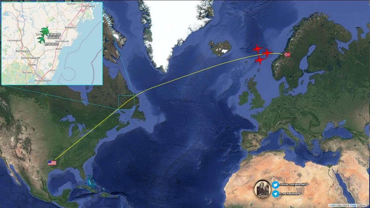 """Американски бомбардировачи са разположени пред """"портите на Северния морски път"""""""