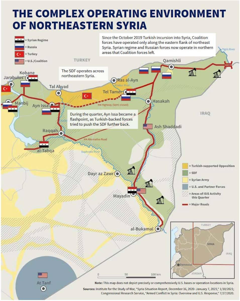 Американски системи за ПВО се появиха в Сирия