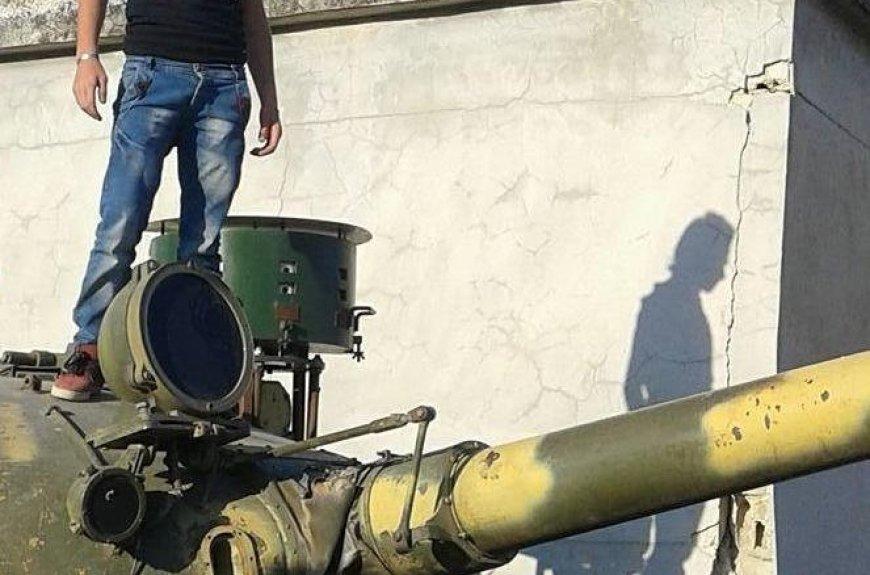 Активната защита сирийско производство Sarab-2 спасява бронемашините в боя