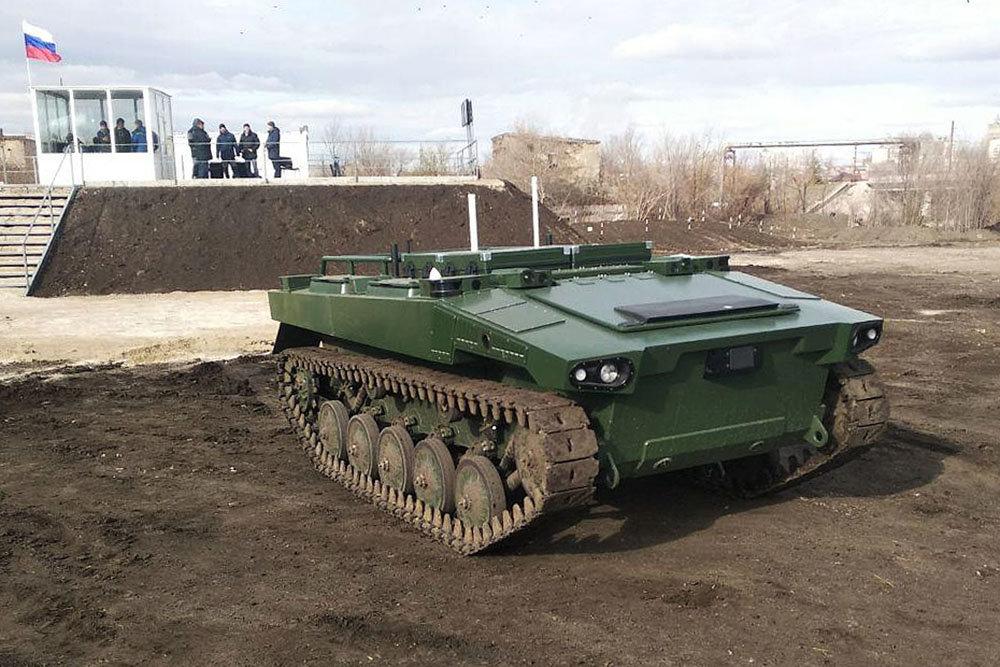 В Русия ще създадат роботи за евакуация на ранените от бойното поле